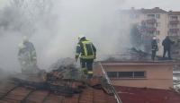 Malatyada askeri lojmanlarda yangın