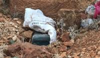 Şanlıurfada yola düşenmiş 50 kilogram EYP ele geçirildi