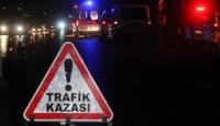 Bayburtta zincirleme trafik kazası: 10 yaralı