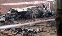 İspanyada küçük özel uçak düştü: 4 ölü