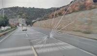 Atiker Konyaspor otobüsüne taşlı saldırı
