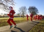 Londrada Noel Baba Koşusu