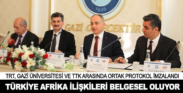 Türkiye Afrika ilişkileri belgesel oluyor