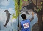 """Irakta beton bariyerlerle """"barış ve umut mesajları"""" veriliyor"""