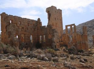 İç savaş sınırdaki sarayı da etkiledi