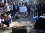Gazzelilerden Halepe destek gösterisi