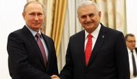 Rusya Devlet Başkanı Putin, Yıldırımı kabul etti