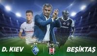 Dinamo Kiev-Beşiktaş maçının ilk 11leri