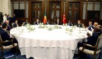 Cumhurbaşkanı Erdoğandan Talon onuruna akşam yemeği