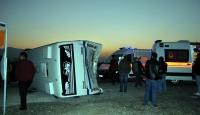 Manisada trafik kazası: 21 yaralı