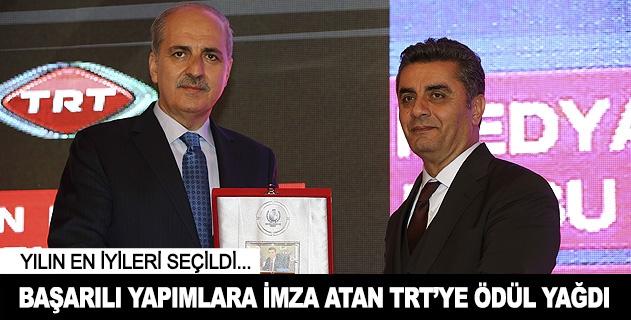 TRTye ödül yağdı