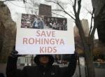 New Yorkta Arakanlı Müslümanlara destek gösterisi