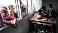 Kamplarda 78 bini aşkın Suriyeliye eğitim veriyoruz