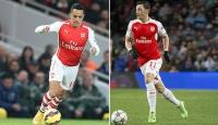 Arsenal Mesut Özil ve Sanchezle parlıyor