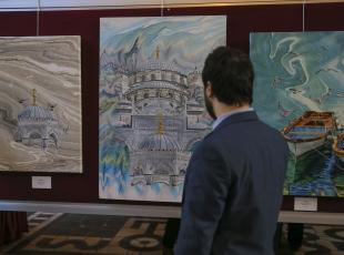 Mecliste Klasik Türk Sanatları Sergisi