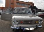 40 yıllık otomobilini modifiye etti