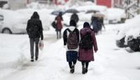 Karabükte eğitime kar engeli