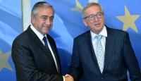 KKTC Cumhurbaşkanı Akıncı, Juncker ile görüştü