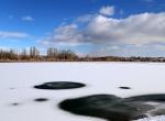 Kızılırmak buz tuttu