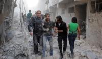 Katliam yaşanan Halepte çaresiz bekleyiş sürüyor