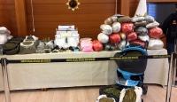 Bebek arabasıyla uyuşturucu sevkiyatı yapan 13 kişi yakalandı