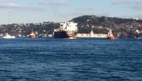 İstanbul boğazı gemi trafiğine kapatıldı