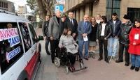 Engelliler için avantaj taksi