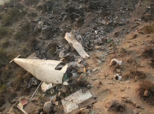 Pakistanda düşen yolcu uçağı