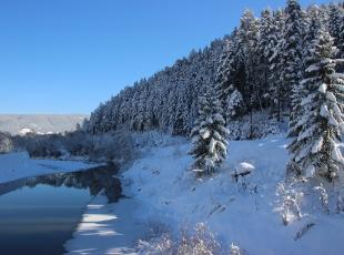 Kastamonuda kış