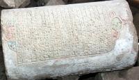 Elazığda 165 yıllık kitabe bulundu