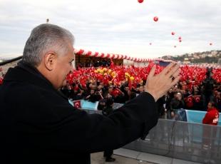 Başbakan Binali Yıldırım Zonguldakta