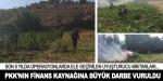 PKK'nın finans kaynağına büyük darbe vuruldu