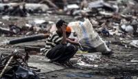 Endonezyadaki depremde 43 bin kişi evsiz kaldı