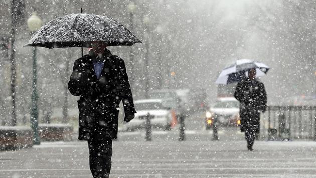 Salı gününden itibaren sıcaklıklar azalıyor, kar geliyor