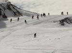 Hakkaride kayak heyecanı
