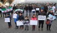 Halepe yönelik saldırılar Almanyada protesto edildi