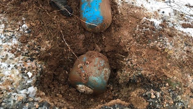 Diyarbakırda yola tuzaklanan patlayıcı imha edildi