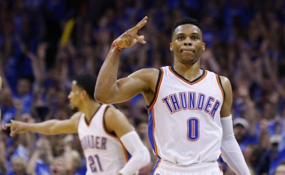 Thunder, Westbrookun 42 sayısıyla kazandı