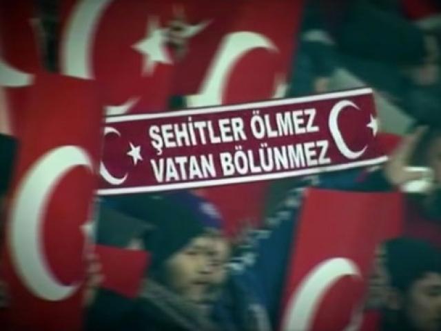 Şehitlere saygı maçı TRTde