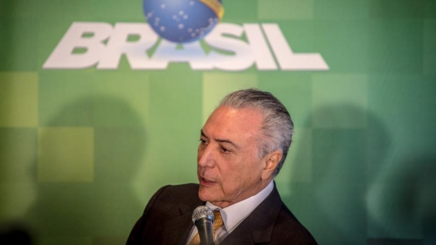 Brezilya Devlet Başkanı Temer istifa etmeyecek