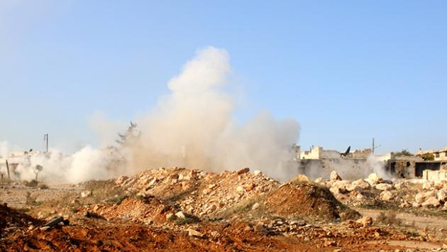 Halepte Esed güçleri operasyon başlattı