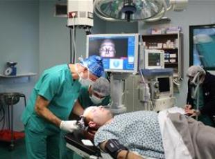 Navigasyon yardımıyla beyin ameliyatı