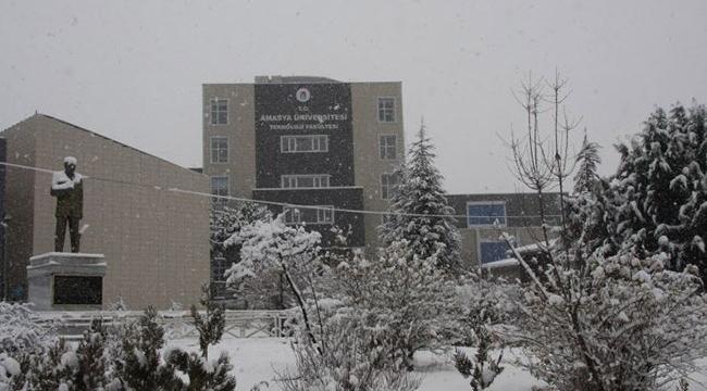 Amasya Üniversitesinden örnek proje