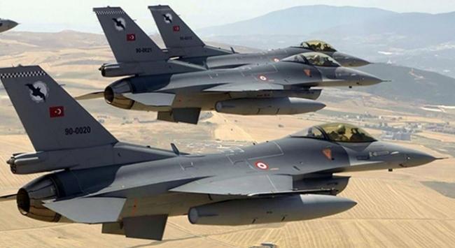 Irakın kuzeyine hava harekatı: 15 terörist etkisiz hale getirildi