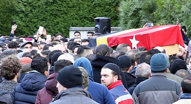Mehmet Kerim Akyıl, Belçikada son yolculuğuna uğurlandı.