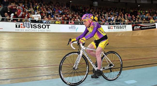 105 yaşındaki Fransız bisikletçiden rekor