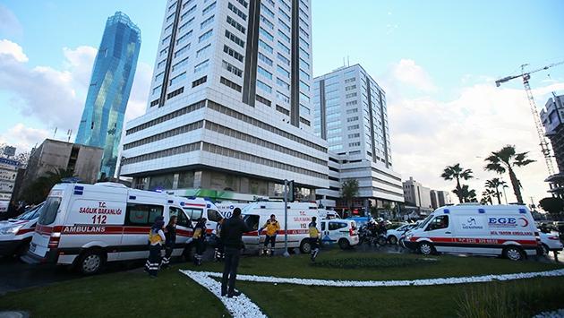 İzmirde terör saldırısı