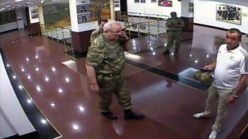 2nci Ordunun eski komutanı Adem Hudutinin darbe gecesi görüntüleri
