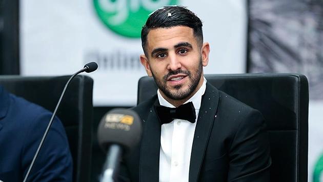 2016nın Afrikalı Futbolcusu Ödülü Mahrezin