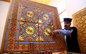 Şebeke sanatı, Azerbaycanın tarihi Şeki kentinde yaşatılıyor